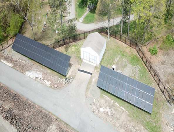 UNITED STATES CORP OF ENGINEERS – Ground Mount Solar Array Installation